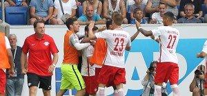Sabitzer rettete RB Leipzig Remis bei Bundesliga-Debüt