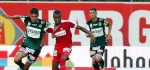 Schlusslicht SV Ried erkämpfte einen Punkt gegen Austria Wien
