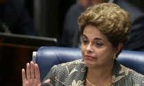Präsidentin Dilma Rousseff wurde des Amtes enthoben