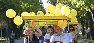 ÖVP eröffnete Wahlkampf um Wien-Leopoldstadt im K.u.k.-Jagdhaus