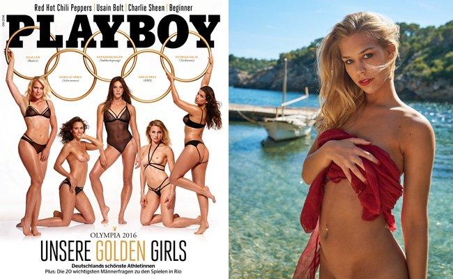 Der September-Playboy ganz im Zeichen der Olympischen Spiele 2016.