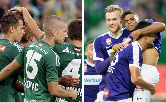 Rapid und Austria Wien freuen sich auf den Europacup-Herbst.
