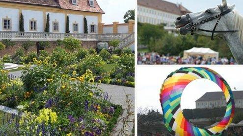 Großes Gartenfest im Schloss Hof