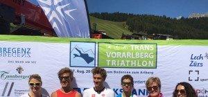 Hitzeschlacht! Brenn und Steger triumphieren beim Trans Vorarlberg Triathlon