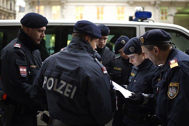 Flüchtlingsgipfel: Wiener Polizei informiert über Platzverbot