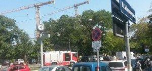 Unfall in Wien-Döbling führte zu kurzzeitigen Verkehrsstörungen