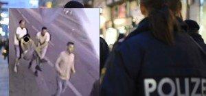 Nach Messerangriff auf Mariahilfer Straße: Fahndung nach unbekannten Tätern