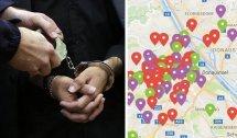 Wo welche Verbrechen in Wien wie häufig geschehen