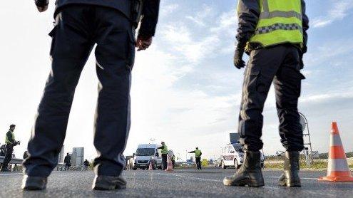 Flüchtlinge: Polizei ist bereit für längere Kontrollen an der Grenze
