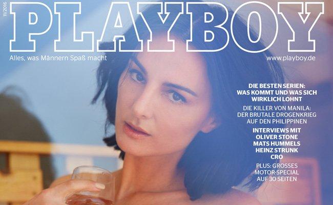 Mimi Fiedler: Coverstar der November-Ausgabe des Playboy.