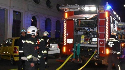 Großeinsatz wegen Verdacht auf Brandstiftung: Evakuierung
