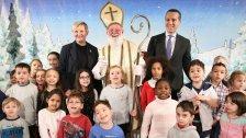 Nikolo-Feier mit Wiener Kindergartenkindern