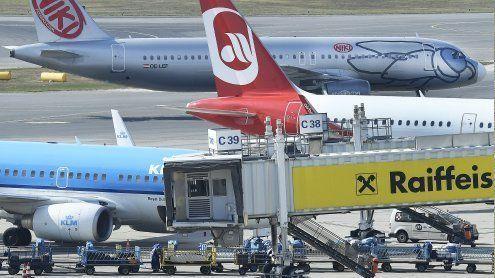 Wiener Flughafen 2016 mit2,5 Prozent mehr Fluggästen
