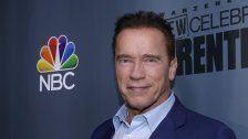 Arnold Schwarzenegger bereits in Kitzbühel