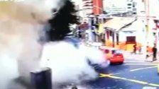 Dutzende Verletzte bei Explosion in Bogota
