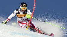 Doppelsieg für Österreich beim Herren-Slalom
