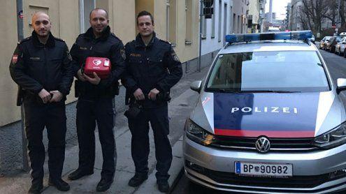 Lebensrettung durch Polizisten