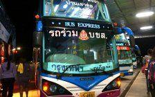 Geheimgang für Diebe in thailändischem Reisebus