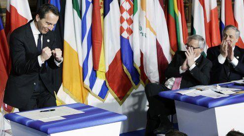 """""""Es wird für immer halten"""": Die EU feiert ihren 60. Geburtstag"""