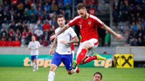 1:1 im Testspiel gegen Finnland