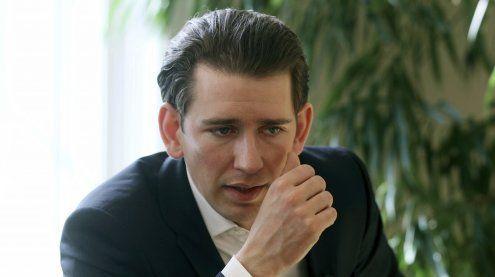 Außenminister  Kurz fordert die Schließung der Mittelmeerroute