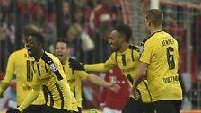 Dortmund im Finale: BVB gewinnt 3:2 in München