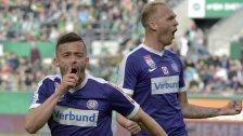Austria Wien feiert einen ungefährdeten Derbysieg