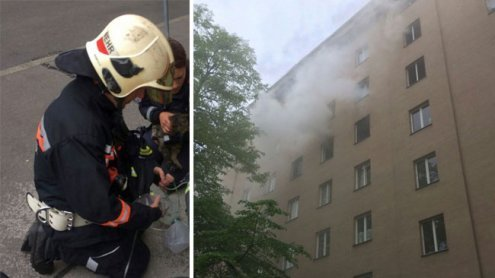 Sieben Verletzte bei Brand in Wien