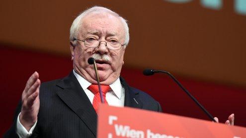 Parteitag der Wiener SPÖ: Nur 77,4 Prozent stimmten für Häupl