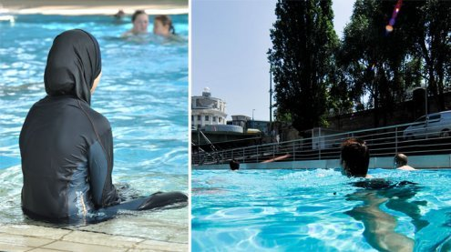 Burkini-Verbot: Badeschiff Wien lädt zum Gratis-Baden im Burkini