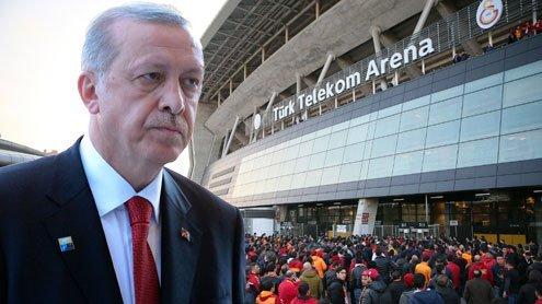 Galatasaray benennt Stadion auf Druck von Erdogan um