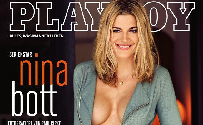 Nina Bott ist zum dritten Mal im Playboy zu sehen.