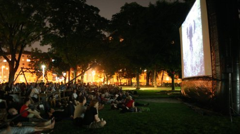 Gratis-SF-Filme im Park starten