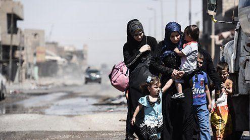 Irak: Hunderte Menschen aus den IS-Gebieten in Mosul befreit