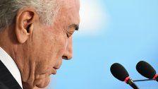 Korruption: Brasiliens Präsident angeklagt