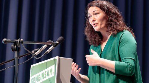 Ingrid Felipe mit 93,7 Prozent zur Bundessprecherin gewählt