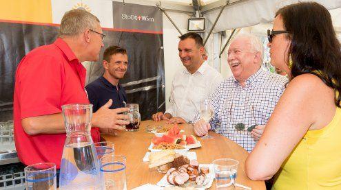 Letzte Runde mit Bürgermeister Michael Häupl am Donauinselfest