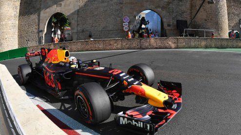 Ricciardo gewinnt Chaos-GP in Aserbaidschan - Stroll Dritter!