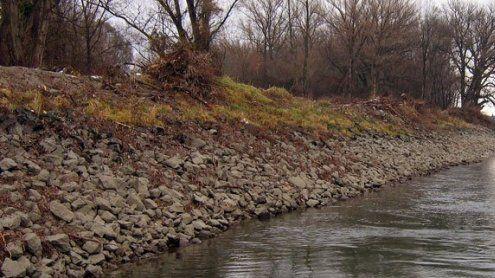 Mutter wollte sich in Wr. Neustadt mit Tochter (1) in Fluss stürzen