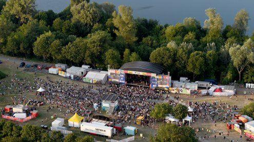 1,1 Mio. Besucher am Samstag - Falco & Mando Diao als Highlights