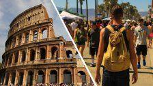 Österreichischer Tourist stirbt vor Kolosseum
