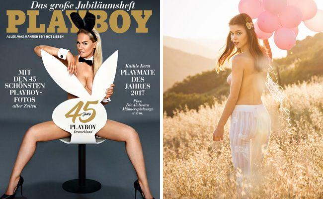 Der Playboy feiert sein 45-jähriges Jubiläum im deutschsprachigen Raum.