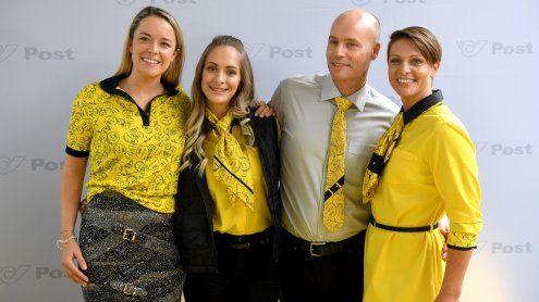 Neue Post-Uniformen von Wiener Star-Designerin Hoermanseder