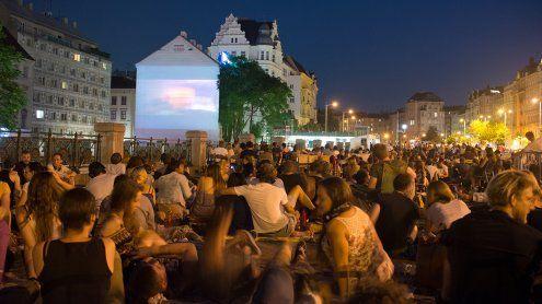 Kino am Naschmarkt 2017: Open-Air-Silent Cinema am Parkplatz