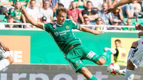 Rapid holt nach 2:0 Führungnur Remis gegen Mattersburg