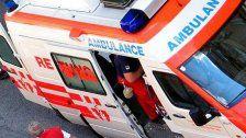 Lebensgefahr: 2-jähriger aus dem 4. Stock gestürzt