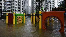 "Taifun ""Hato"" forderte bisher zwölf Todesopfer"