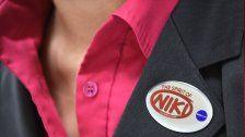 Betriebsversammlung von Niki in Schwechat