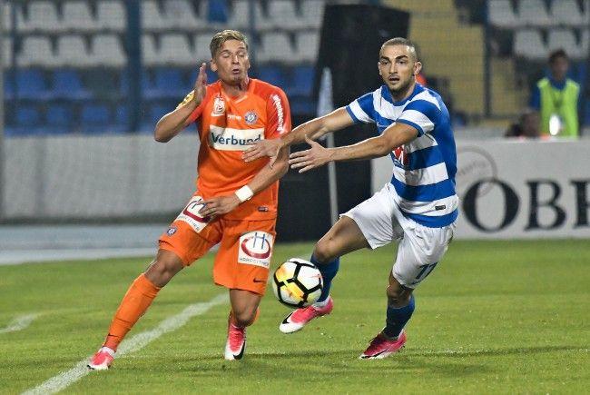 Die Wiener Austria gastiert im Playoff-Hinspiel der Europa League bei NK Osijek in Kroatien.