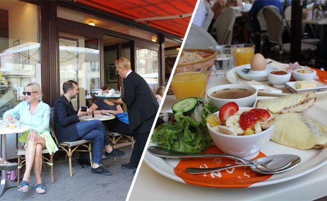 """Das Frühstücksangebot im französischen """"Le Bol"""" im Test."""